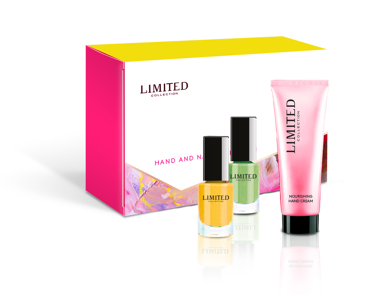 Hand & Nail Gift Set for Women's fashion sub-brand LIMITED COLLECTION