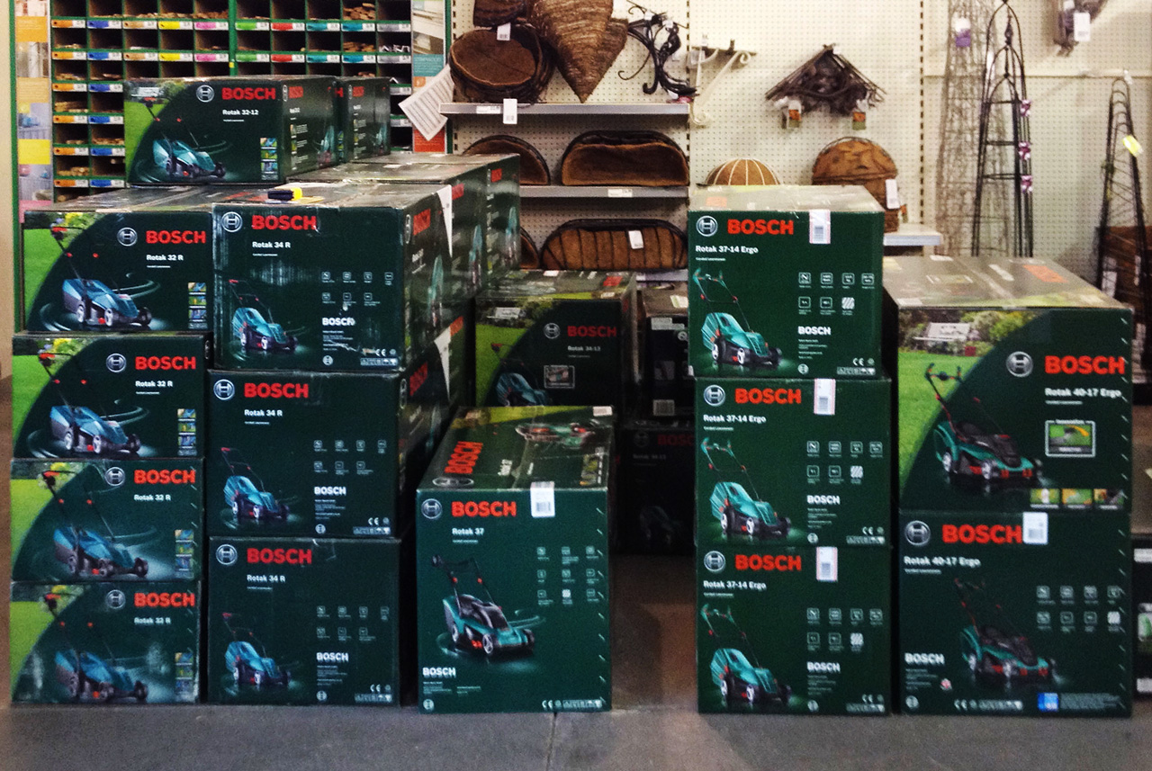 BOSCH-MOWERS-IN-B&Q